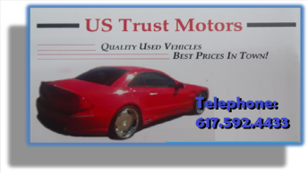 US trust motors Sales |US trust motors quality auto sales| US trust motors auto dealership | US trust motors Tel 617-592-4433 | Great Way For a Family on a Budget To Same Money | Quality Used Cars Are A Great Value